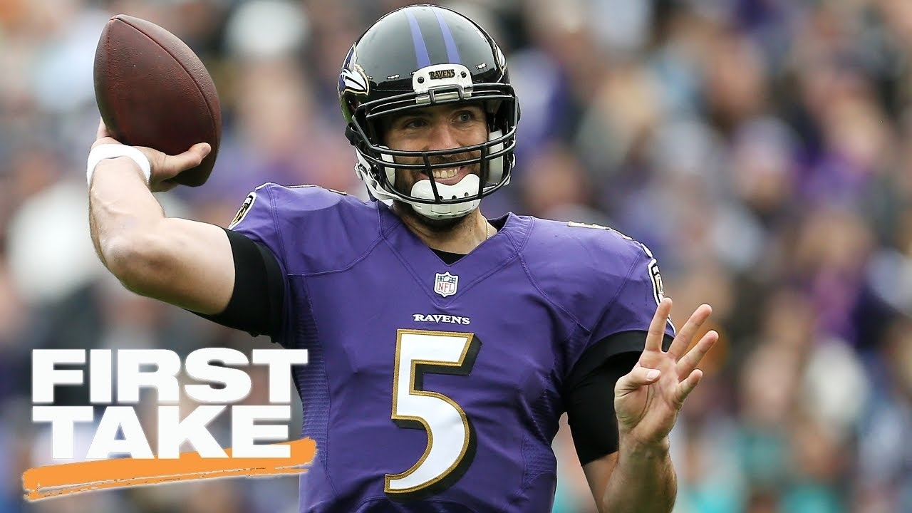 Will Joe Flacco Win Another Super Bowl? | First Take | March 31, 2017 intended for Joe Flacco Super Bowl