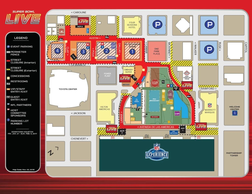 Winpark The Big Game - Winpark throughout Super Bowl Live Map