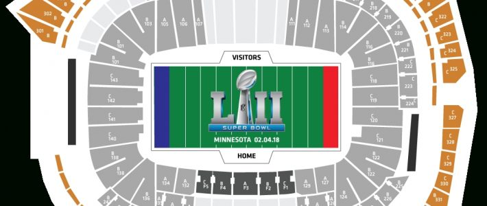 Your 2018 Super Bowl Ticket Package Breakdown intended for Super Bowl Seating Capacity