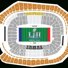 Your 2018 Super Bowl Ticket Package Breakdown with Super Bowl Seating Chart 2018