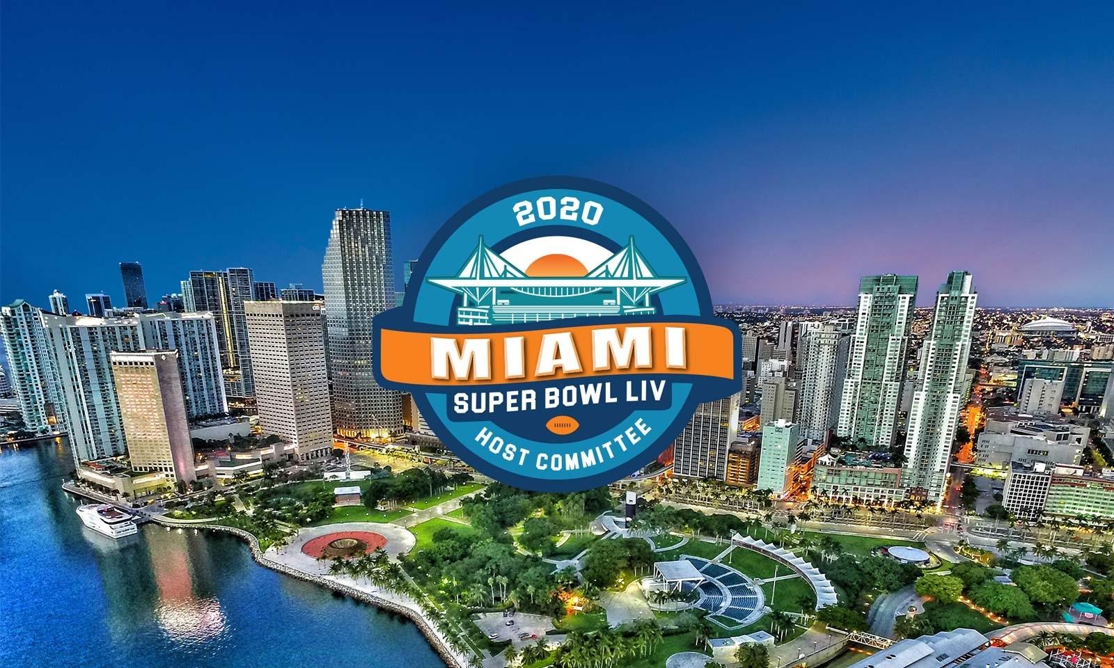 2020 Super Bowl Liv Host Committee Main_Image - Advantage inside Miami Florida Super Bowl 2020
