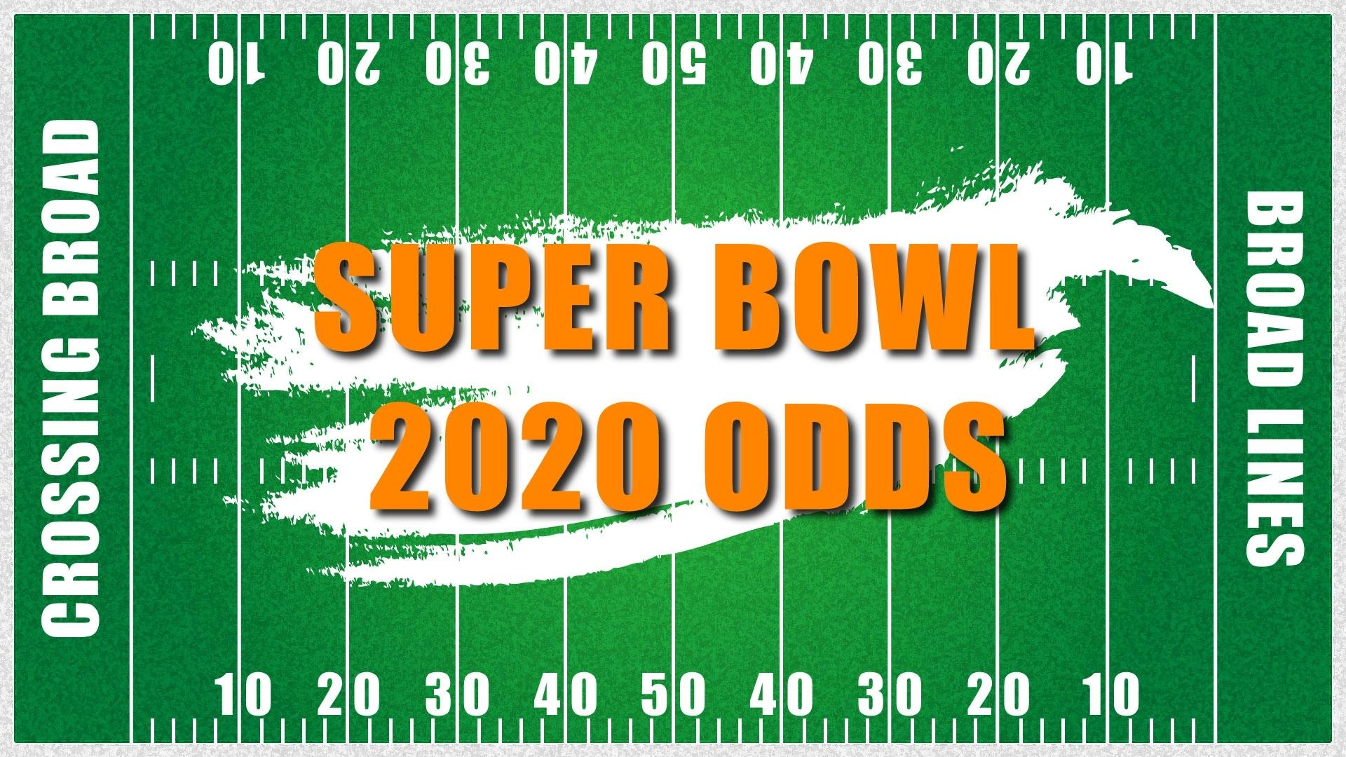 2020 Super Bowl Odds | Odds To Win Super Bowl 54 | Crossing regarding Miami Dolphins Super Bowl Odds 2019