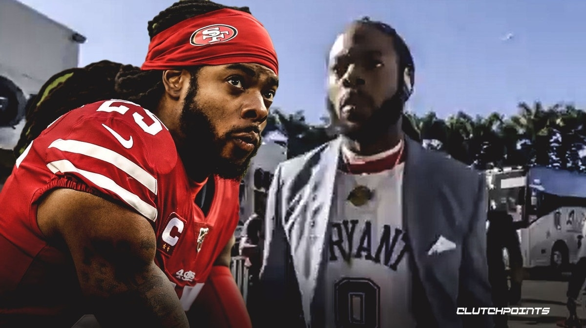 49Ers News: Richard Sherman Arrives At Super Bowl 54 In Kobe with regard to Super Bowl Shuffle Miami