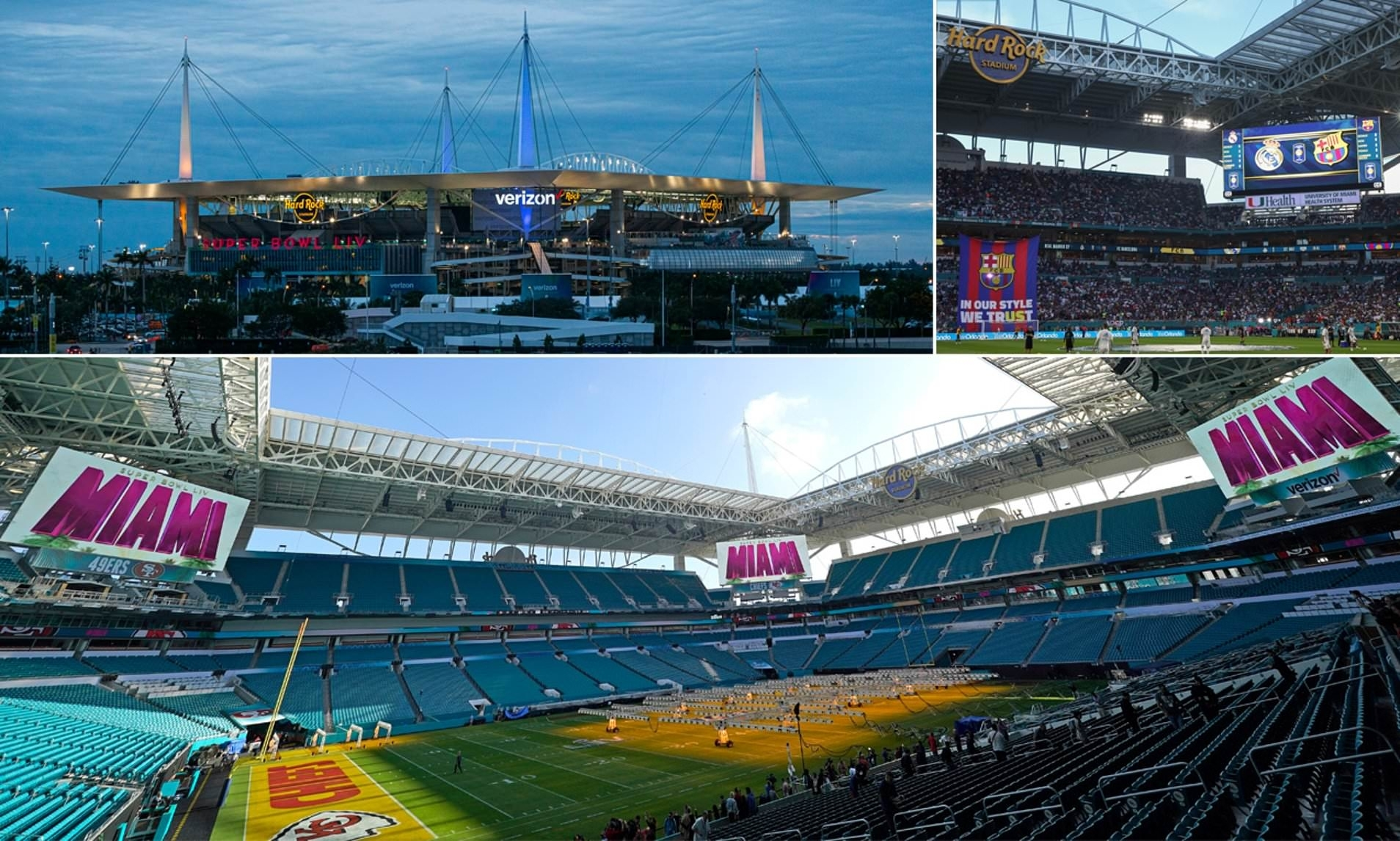 A Look Inside The Incredible Hard Rock Stadium Hosting This intended for Miami Dolphins Host Super Bowl