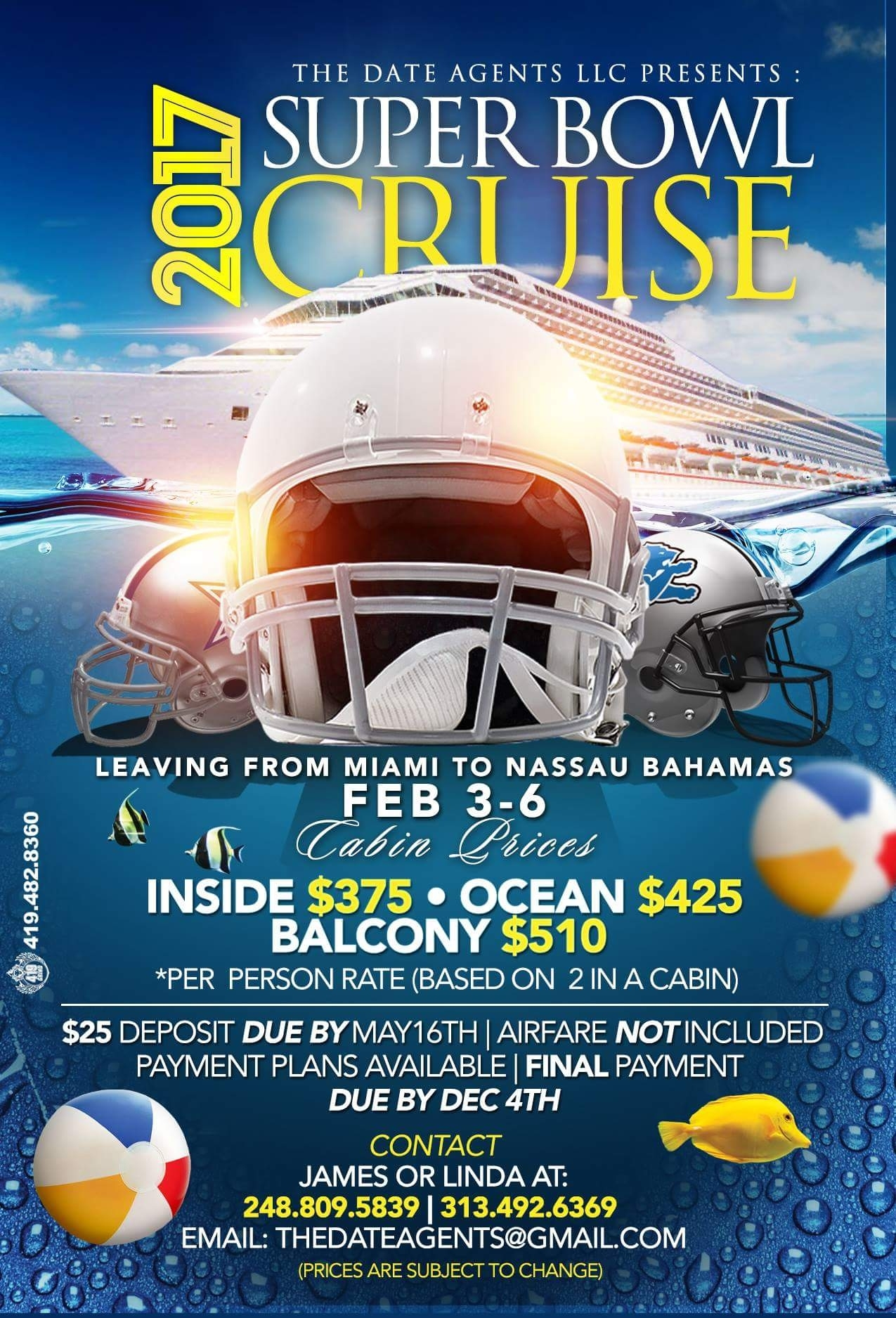Best Super Bowl Parties In America – The Vacation Times pertaining to Miami Super Bowl Cruise