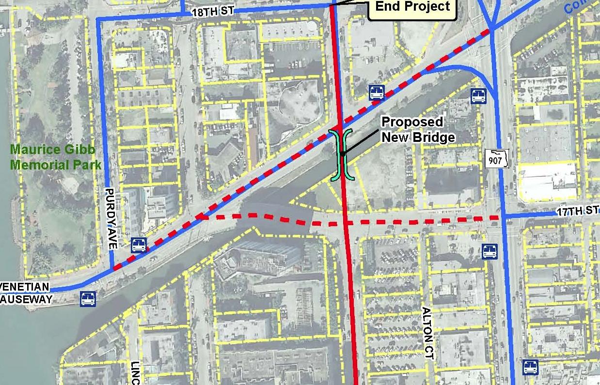 Bike Paths | Belle Isle Blog with Miami Beach Bike Path Map