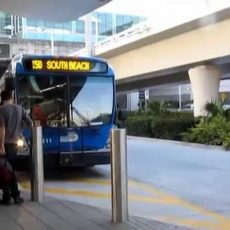 Bus 150 From The Airport Miami To South Beach. Usa pertaining to Miami Bus 150 Map