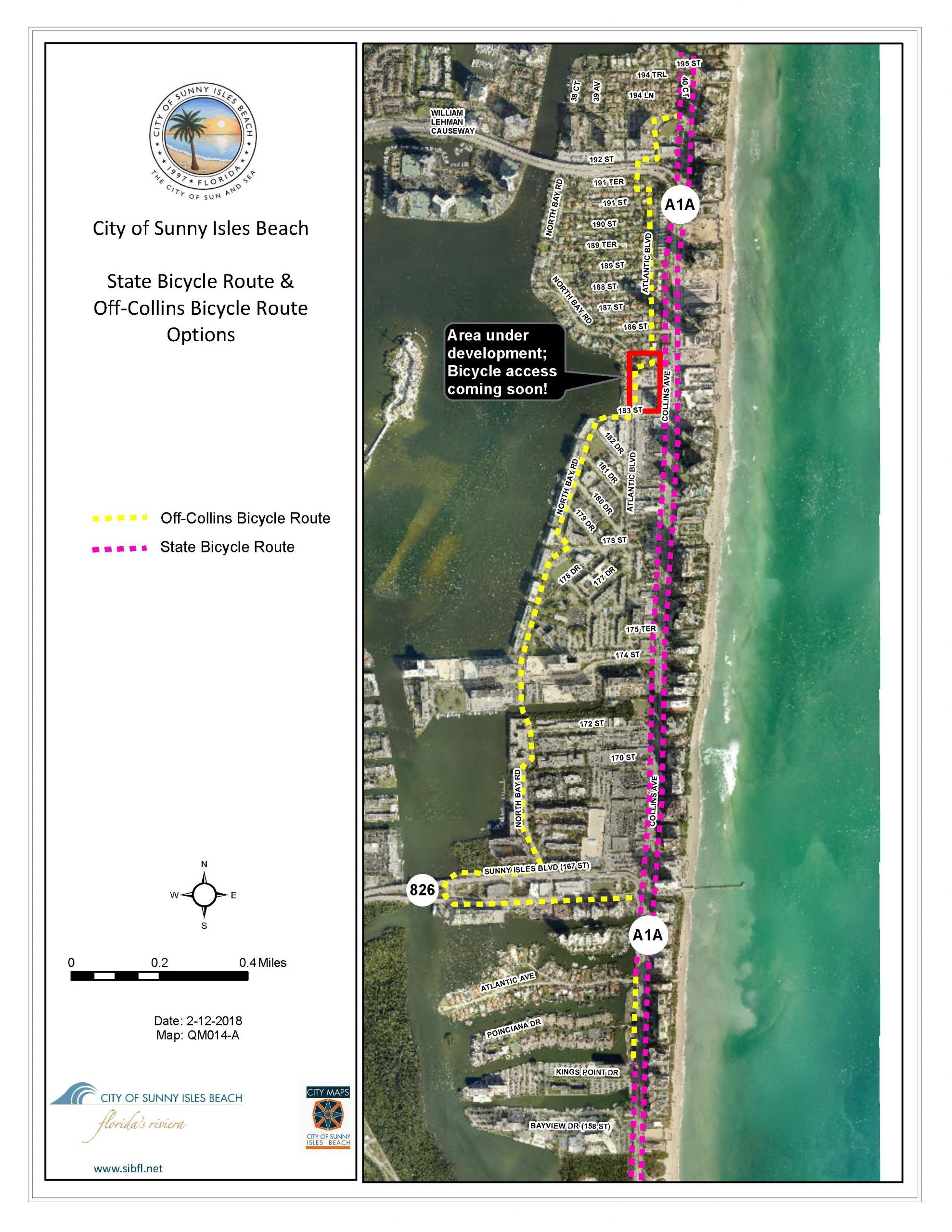 City Maps - City Of Sunny Isles Beach intended for Miami Beach Residential Parking Zone Map