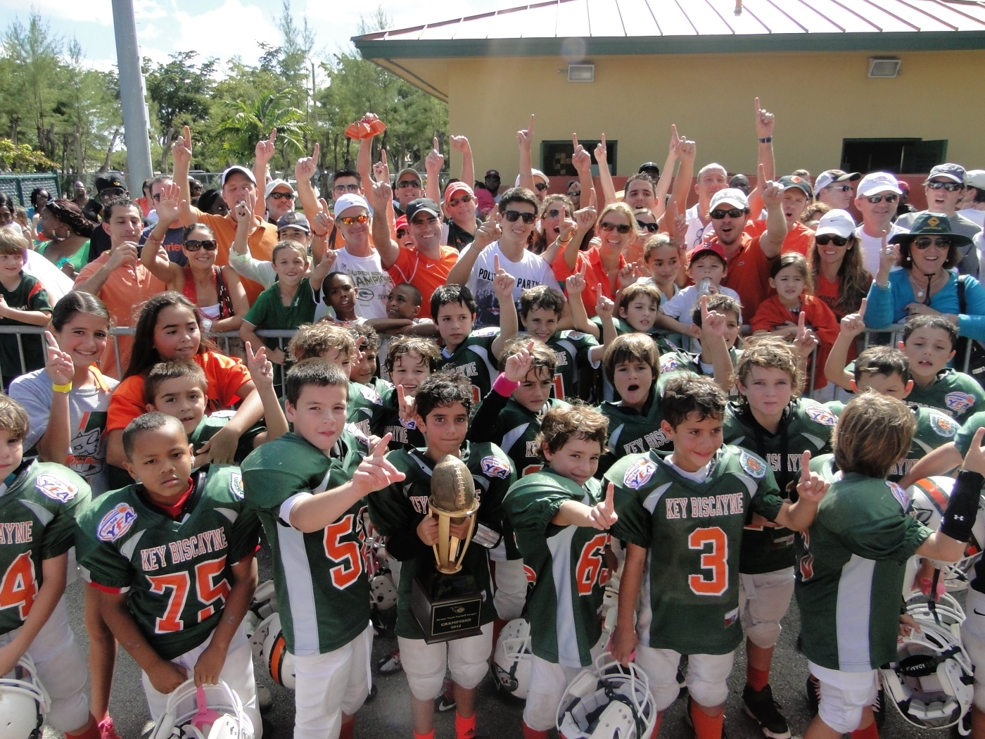 Congrats To The 2012 Miami Xtreme Youth Football League for Miami Xtreme Super Bowl