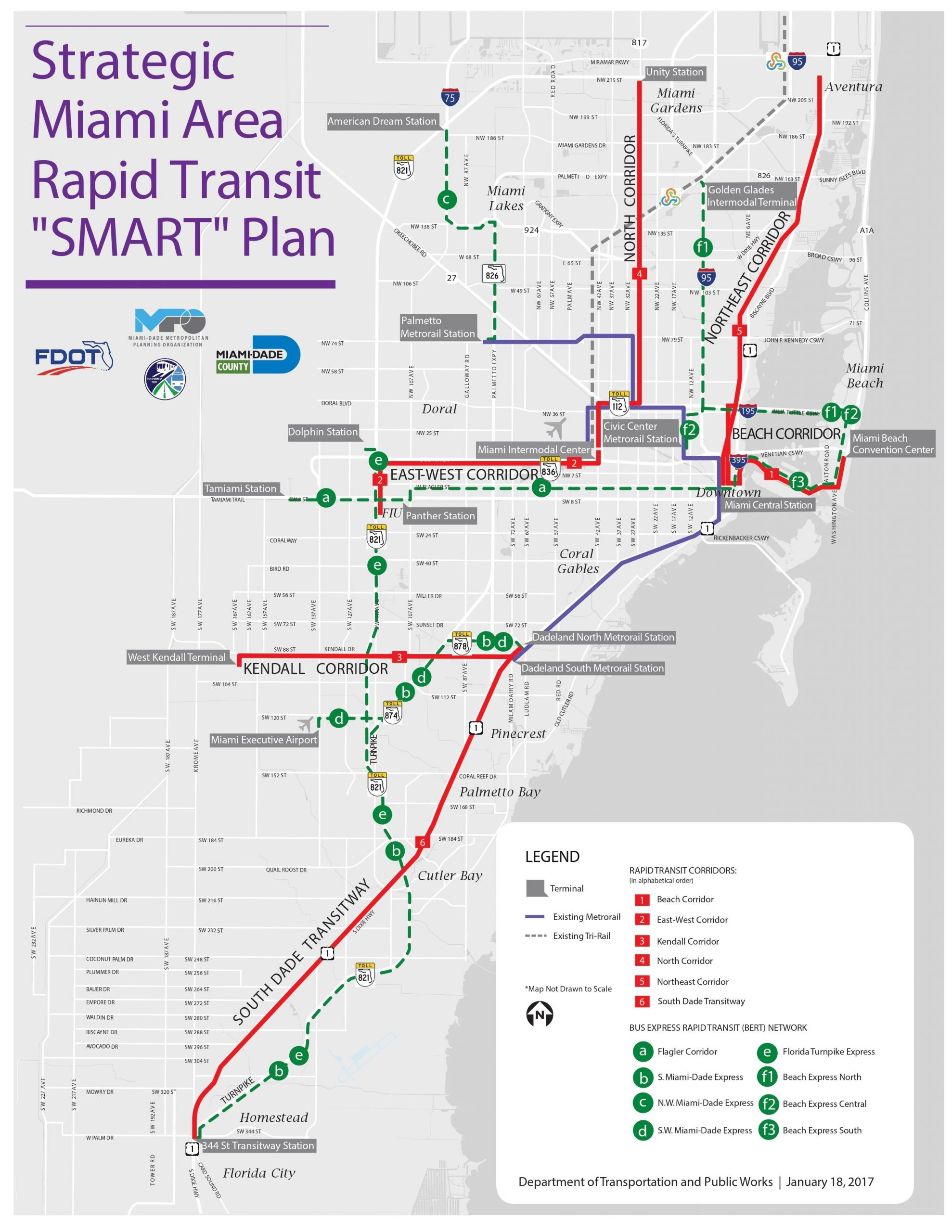 county preparing to spend $3.6b on rapid transit - the
