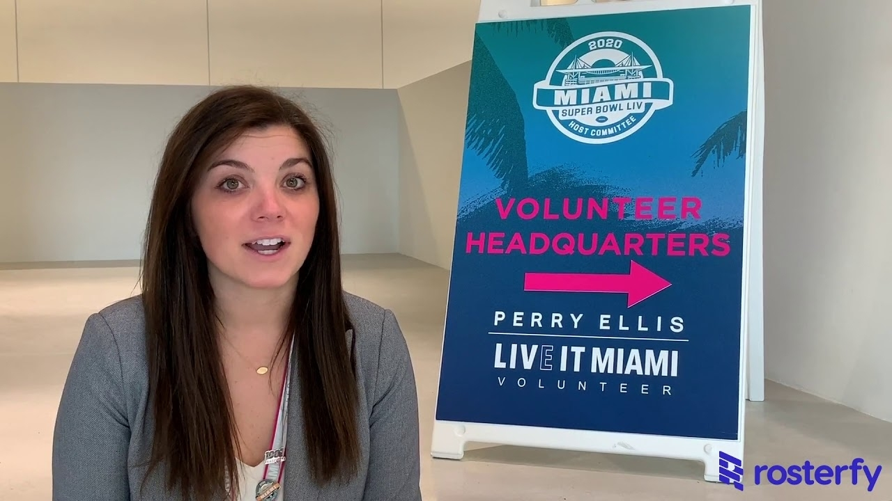 Elle Kehoe, Miami Super Bowl Host Committee Manages 10,000 Volunteers With  Rosterfy in Volunteer For Miami Super Bowl