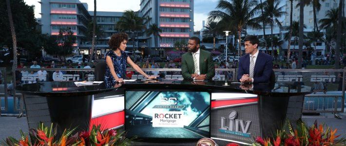 Espn Goes 'classic Miami' With Super Bowl Location with Super Bowl Radio Broadcast Miami