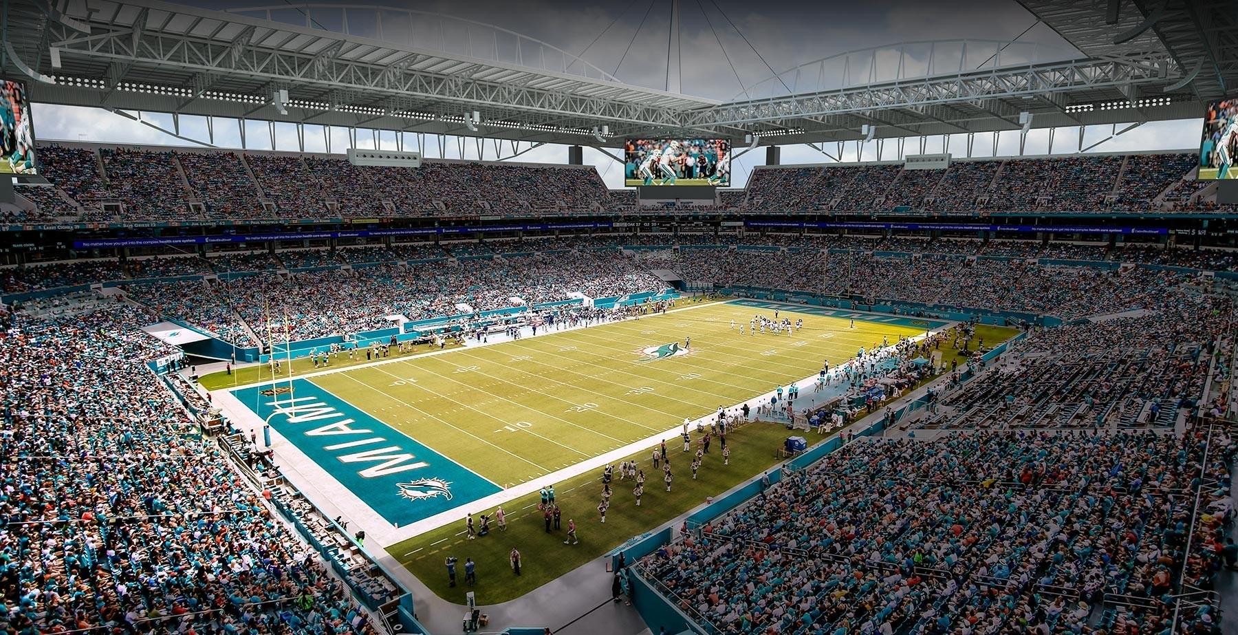 Food, Beer Options Enhanced At Hard Rock Stadium - Football pertaining to University Of Miami Stadium Address