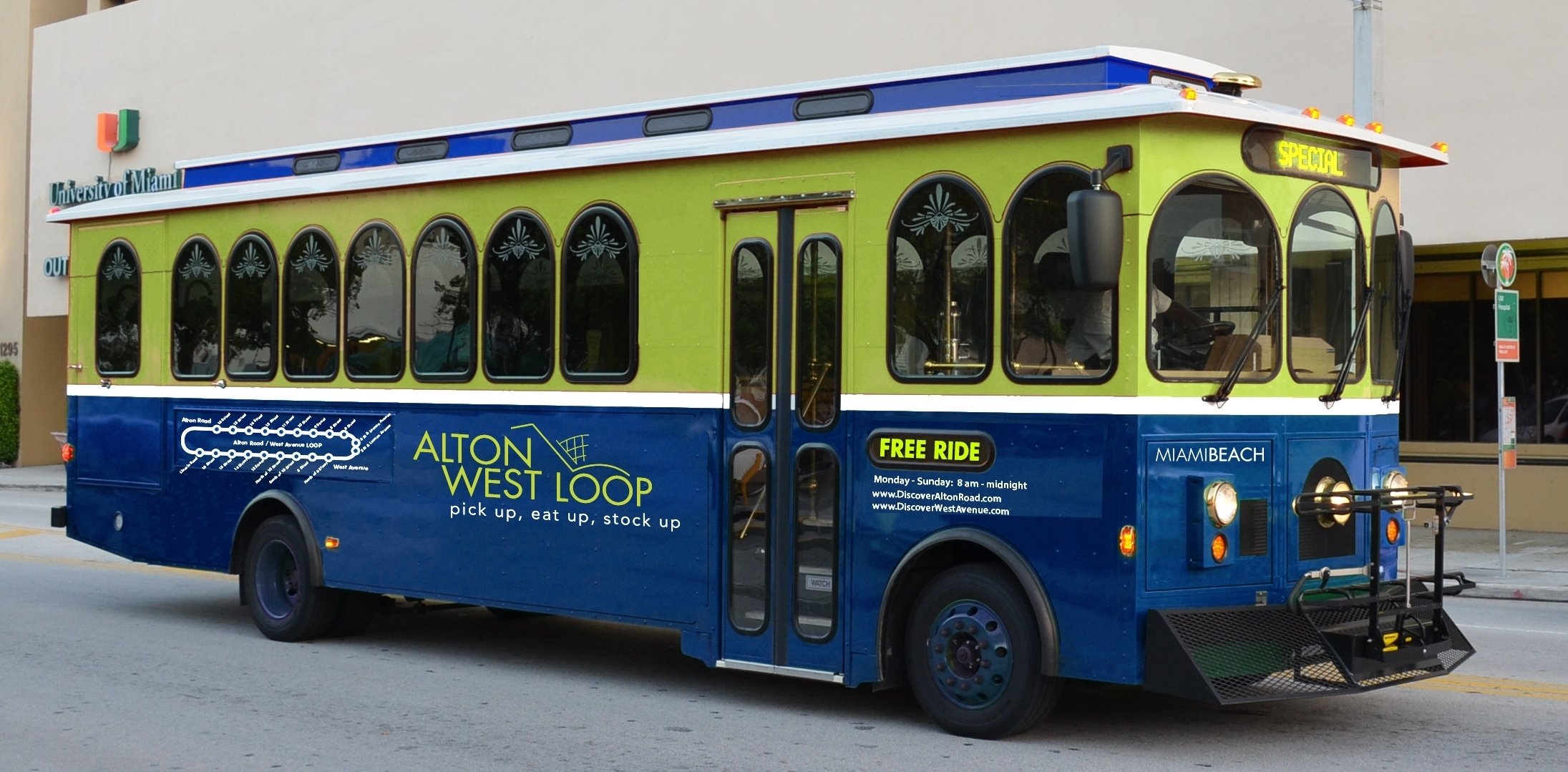 Free Trolley Service In South Beach - Miami On The Cheap within North Miami Beach Trolley Map