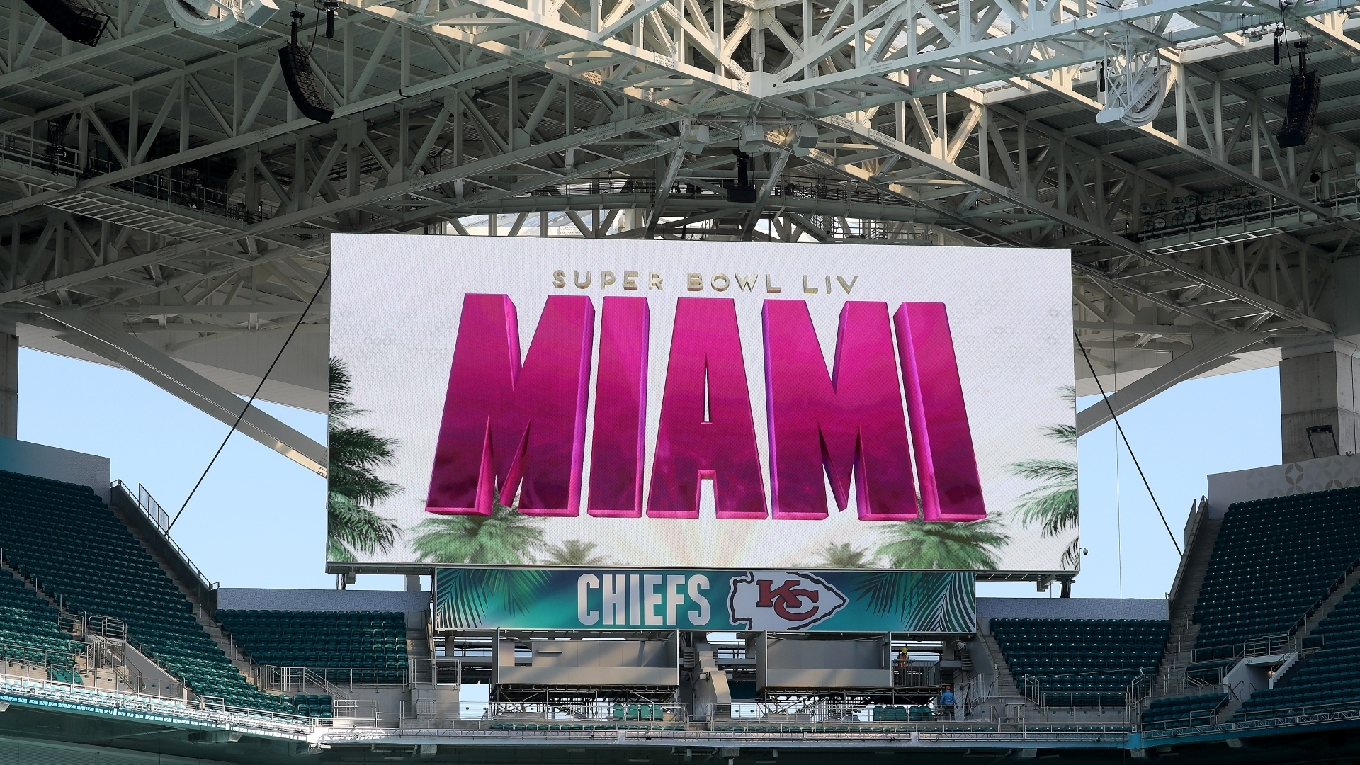 Hard Rock Stadium Gets Final Super Bowl Touches Before Feb with Miami To Host Super Bowl