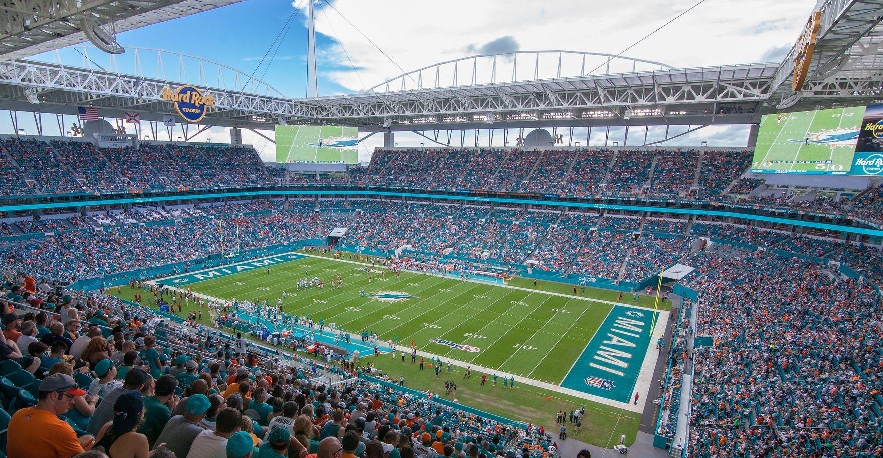 Hard Rock Stadium - Miami Dolphins   Miami Dolphins throughout Stadium Miami Dolphins Address