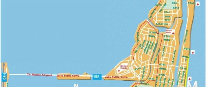 Large Miami Beach Maps For Free Download | High-Resolution throughout Miami Beach On Map