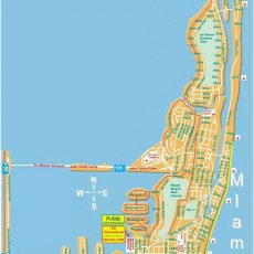 Large Miami Beach Maps For Free Download | High-Resolution within Map Of Miami Beach Area