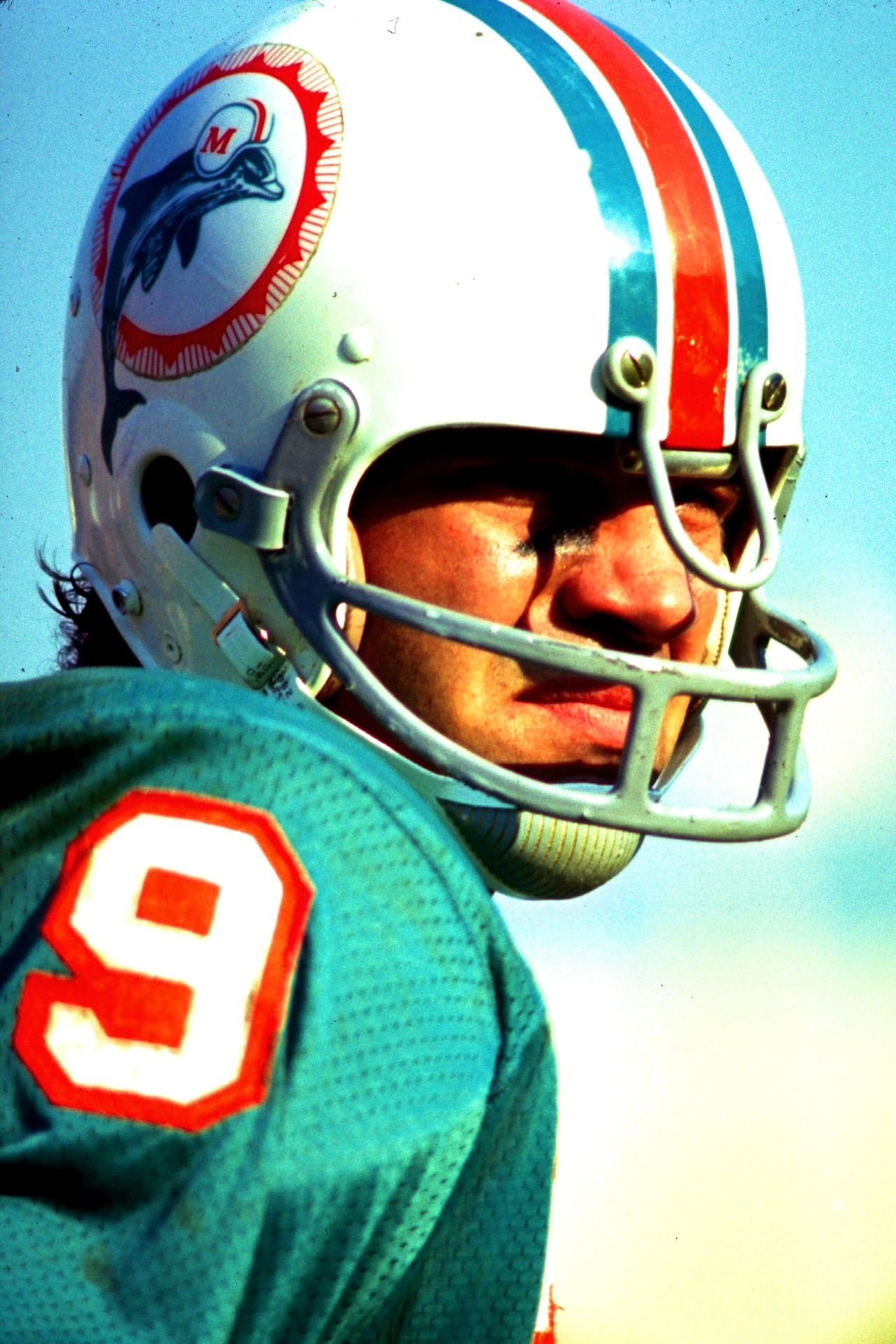 Larry Csonka, Running Back For The Miami Dolphins During The in Miami Dolphins 1972 Super Bowl Quarterback