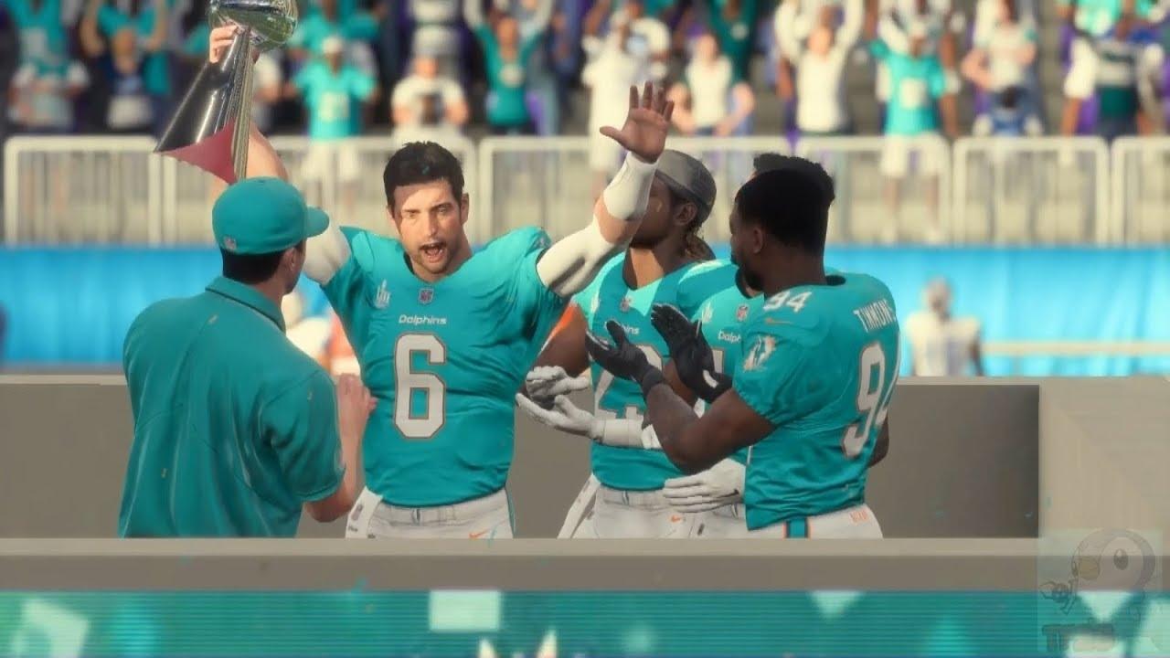 Madden Nfl 18 - Miami Dolphins Super Bowl Celebration throughout Miami Dolphins In Super Bowl