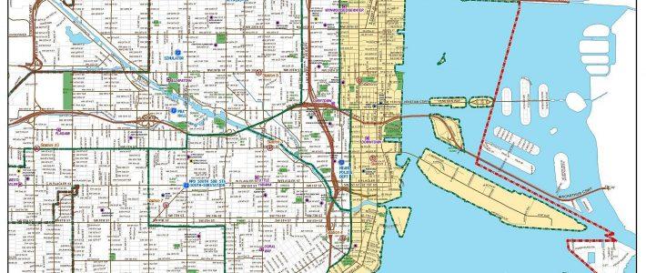 Mapas Detallados De Miami Para Descargar Gratis E Imprimir inside Mapa Miami Y Alrededores