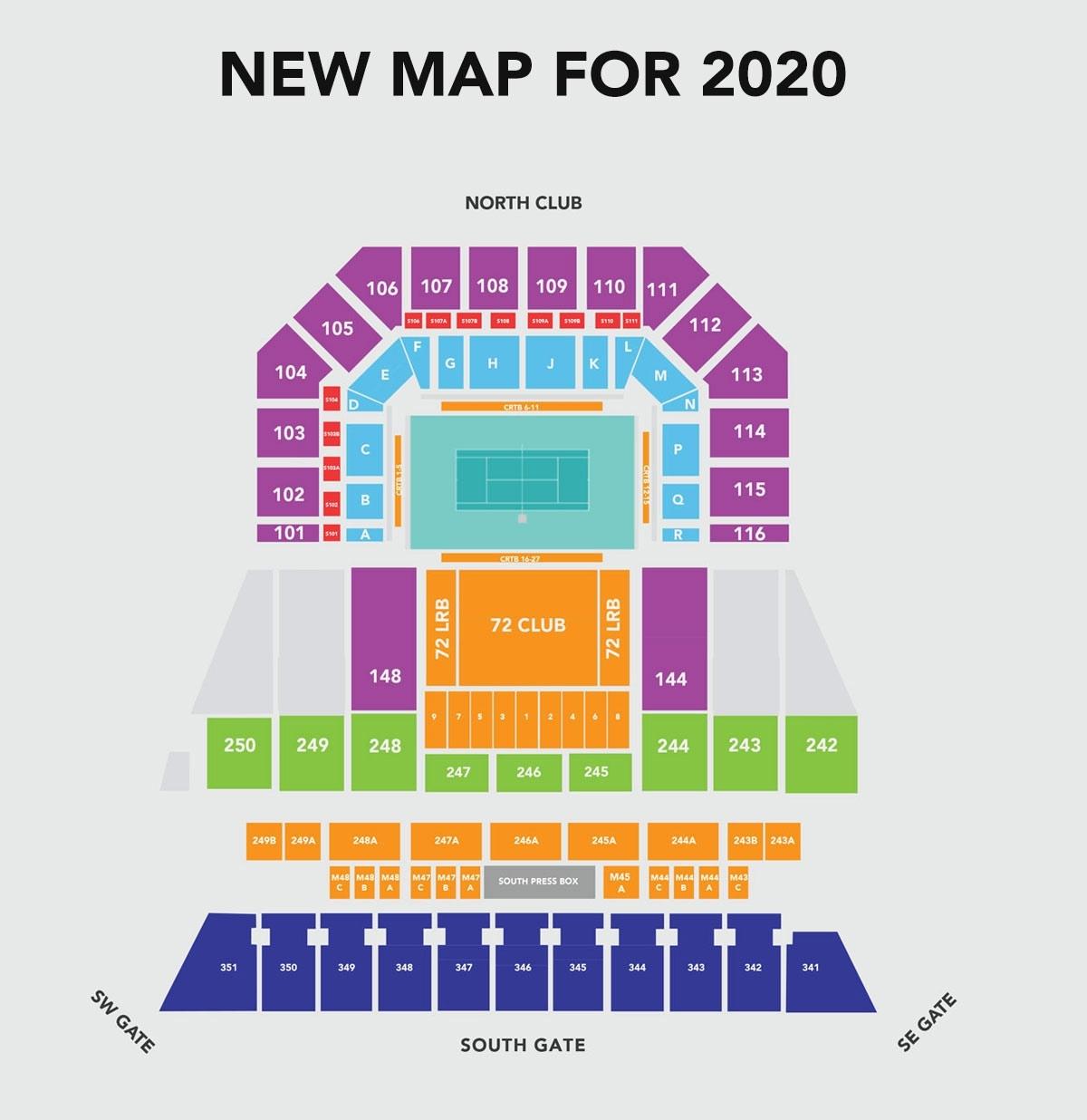 Maps - Miami Open throughout Miami Open Venue Map