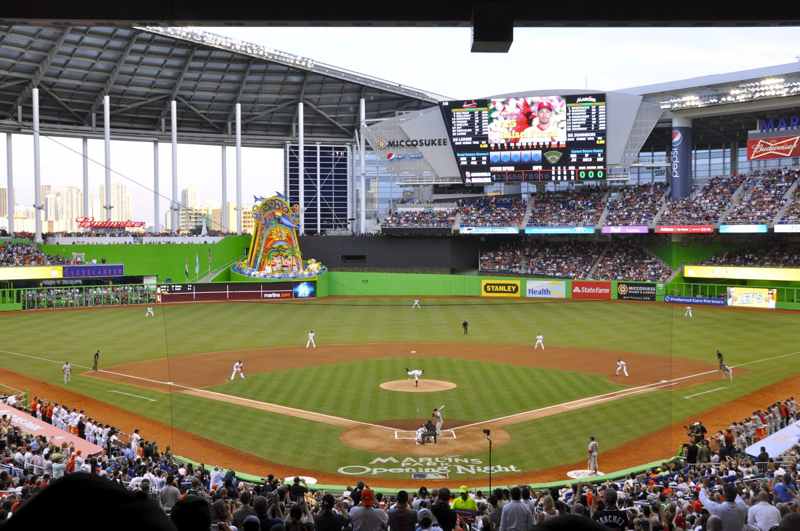 Marlins Park – Wikipedia throughout Miami Hurricanes Baseball Stadium Address