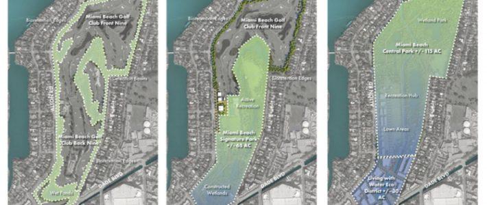 Miami Beach Has A Bold Idea To Fight Sea Rise: Turn A Golf with Miami Beach Golf Club Course Map