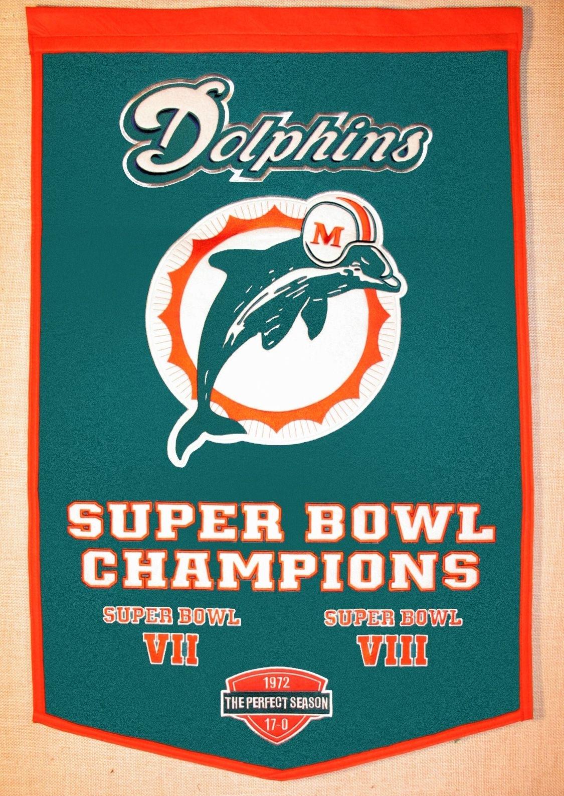 Miami Dolphins Super Bowl Champs | Nfl Miami Dolphins, Miami with Miami Dolphins Won The Super Bowl