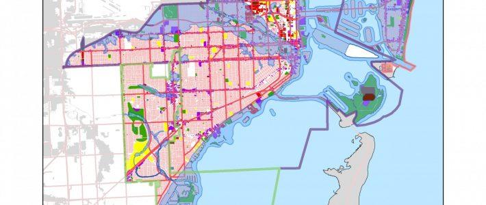 Miami Flood Vulnerability Gis   E-Portfolio Of Stella L. Zhou throughout Miami Beach Flood Zone Map