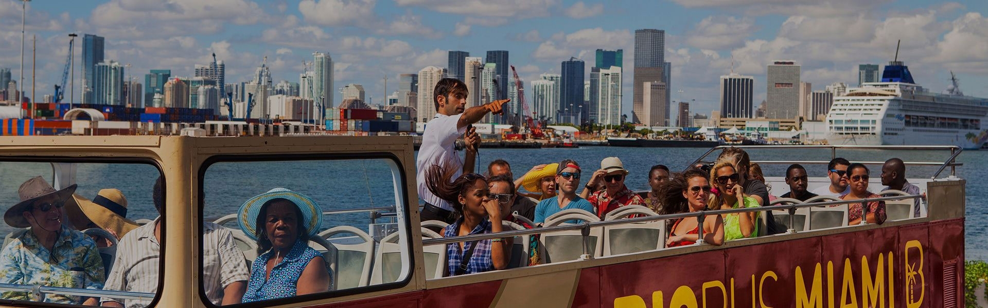 Miami Hop On, Hop Off Bus Routes Map | Big Bus Tours within Miami Beach Bus Routes Map