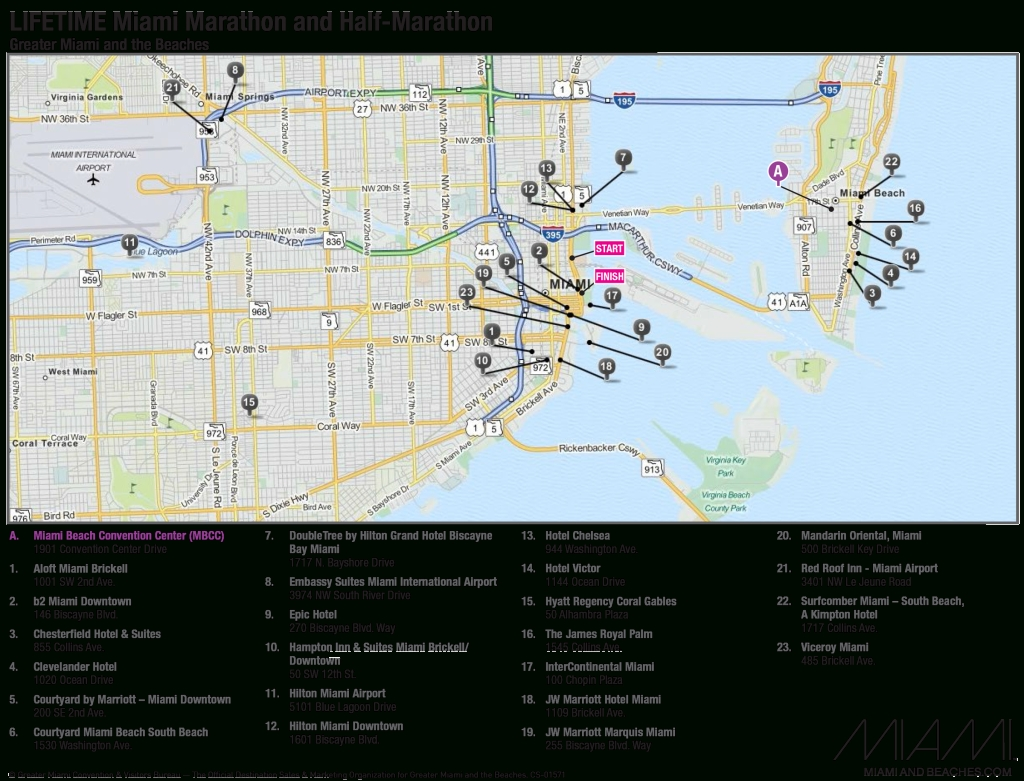 Miami Hotel Map | 2018 World's Best Hotels pertaining to Miami Beach Map Hotels
