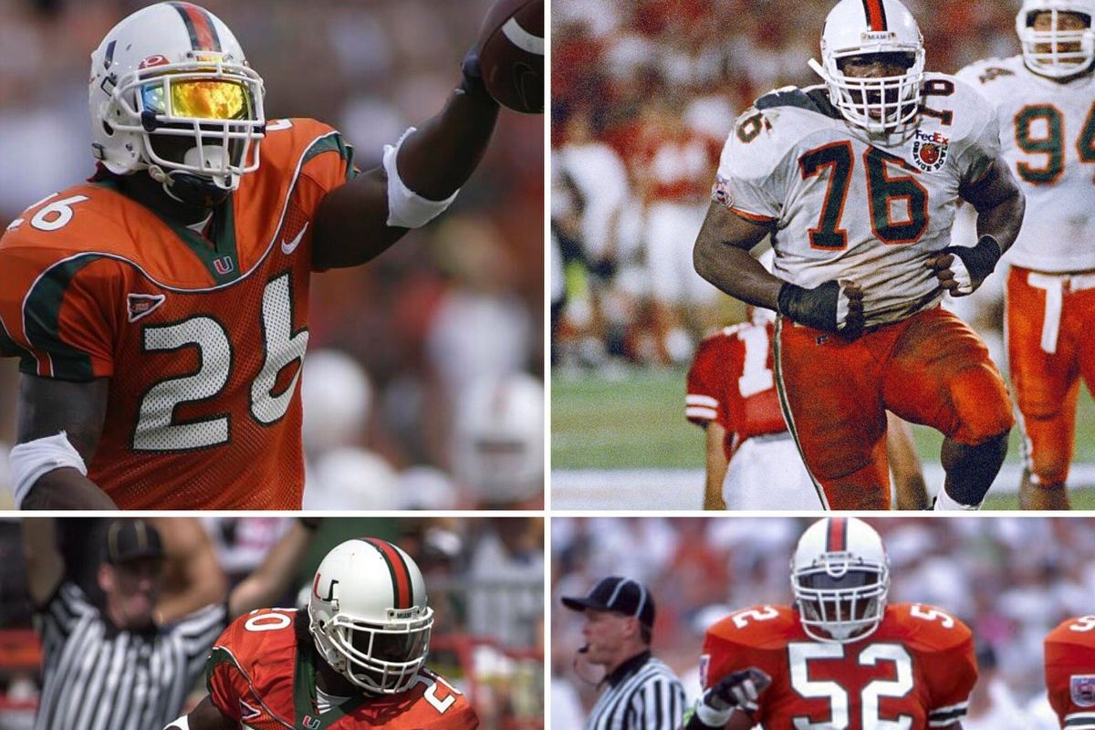 Miami Hurricanes Football: 2017 Ring Of Honor Inductees with Miami Hurricanes With Super Bowl Rings