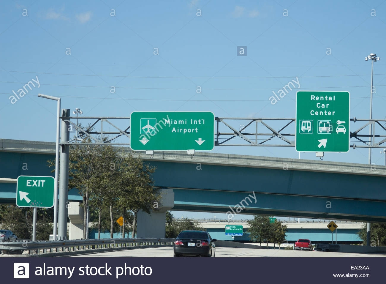 Miami International Airport Car Rental Return Zeichen throughout Miami Airport Car Rental Return Alamo