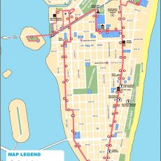Miami South Beach Map with regard to Miami South Beach Map