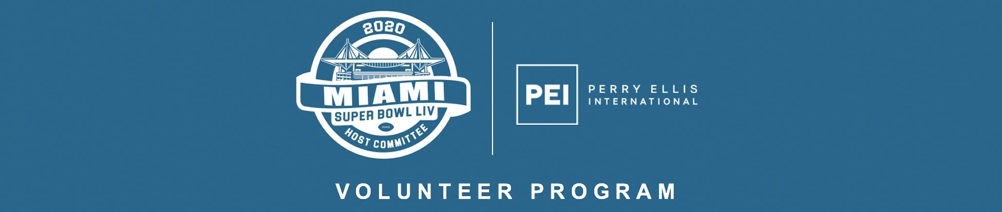 Miami Super Bowl Volunteer Program   Register regarding Volunteer For Miami Super Bowl