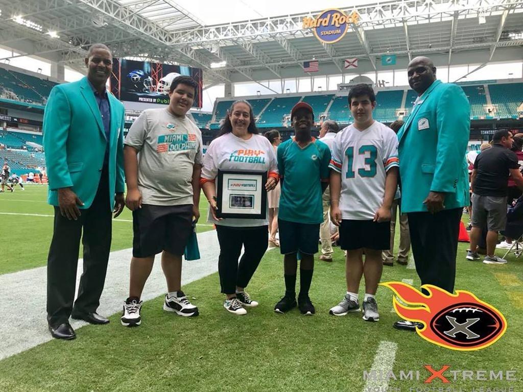 Miamixtremefootball with Miami Xtreme Super Bowl