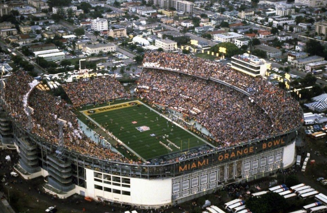Orange Bowl, Miami Fl. | Florida | Orange Bowl, College inside Super Bowl Miami Orange Bowl
