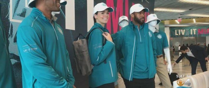 Perry Ellis Outfits Army Of Super Bowl 54 Volunteers regarding Volunteer For Miami Super Bowl