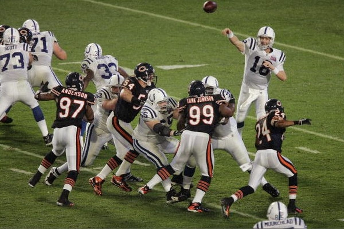 Peyton Manning Has 1 Touchdown Pass In Two Super Bowl Wins within Bears Super Bowl Miami