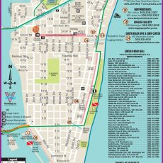 Pinyunk On Travels | South Beach Miami, South Beach pertaining to Miami Beach Map Hotels