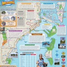 Self Guided Bike Tour Map Of Miami Beach - Google Search regarding Miami Beach Bike Path Map