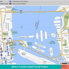 Smart Plan - Beach Corridor regarding Bus In Miami Beach Map