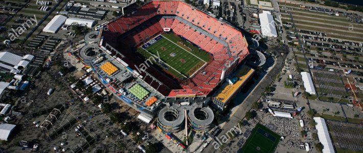 Sun Life-Stadion Miami Gardens Super Bowl 2010 New Orleans with Miami Gardens Super Bowl