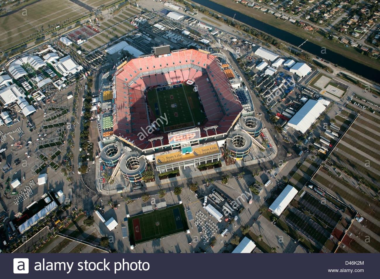 Sun Life-Stadion Miami Gardens Super Bowl 2010 New Orleans with regard to Miami Gardens Super Bowl