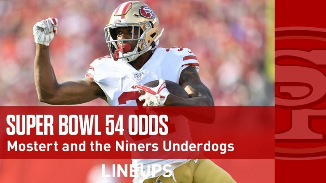 Super Bowl 54 2020 Odds: Niners Are Now Super Bowl Underdogs pertaining to Miami Super Bowl Odds