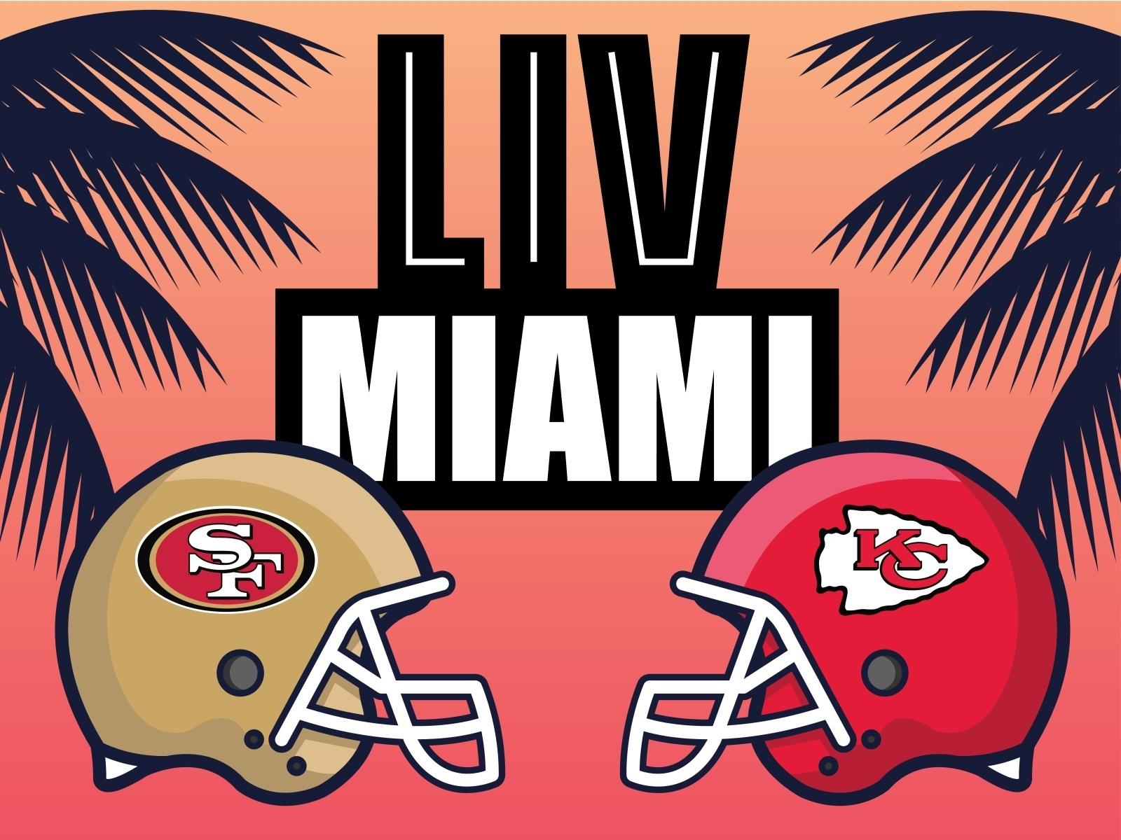 Super Bowl Liv | Miami | Sf 49Ers Vs Ks Chiefsroberto pertaining to 49Ers Vs Miami Super Bowl