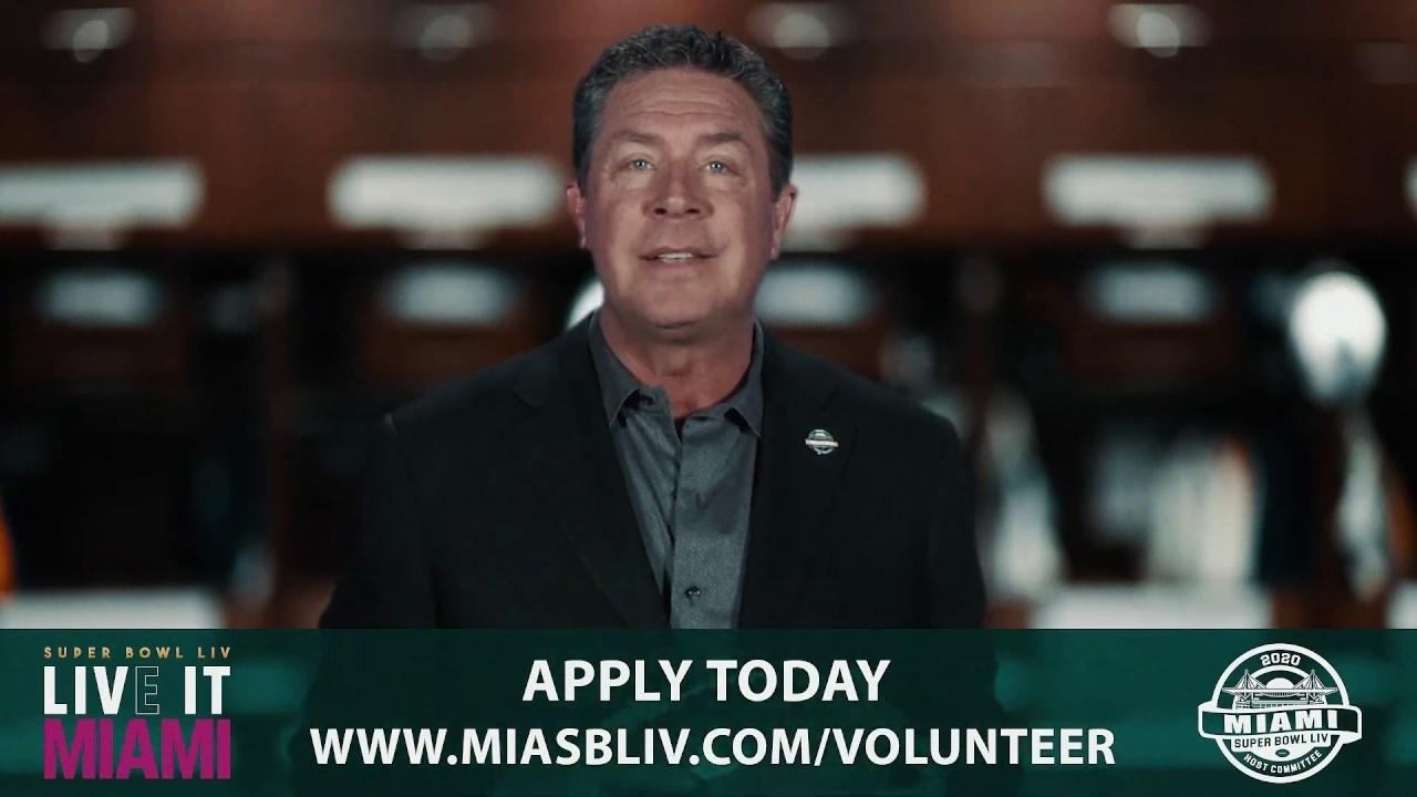 Super Bowl Liv Seeks 10,000 Volunteers In South Florida in Volunteer For Miami Super Bowl