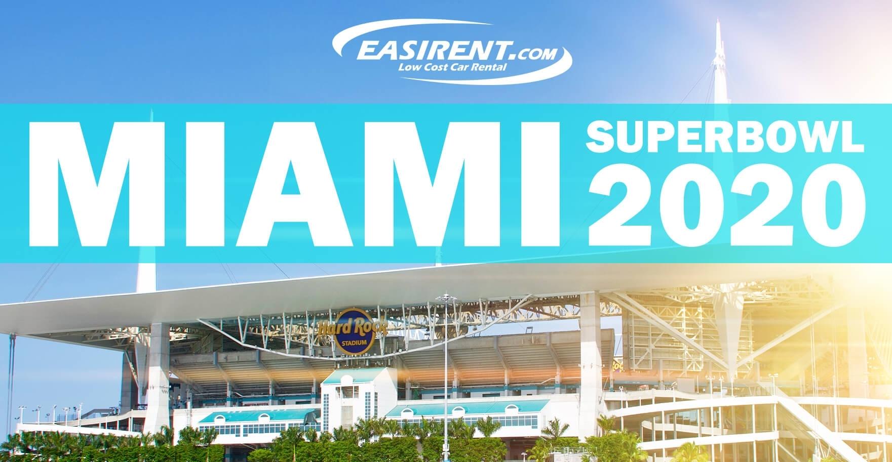 Super Bowl Miami Gardens Tickets 2020 - Easirent Us throughout Super Bowl 2020 Miami Logo