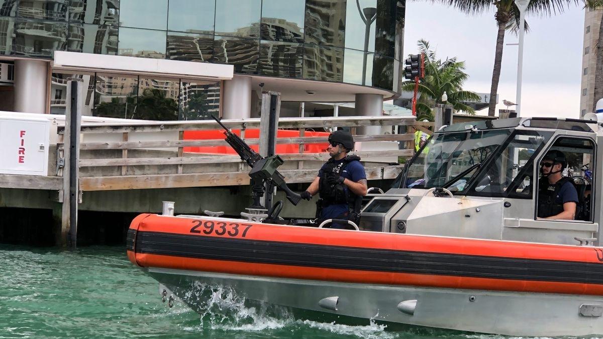 Super Bowl Sets Miami Security Challengeland, Sea And in Miami Super Bowl Cruise